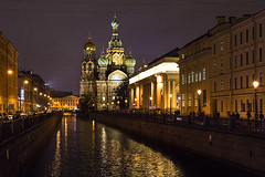 642ru (Nadia Isakova) Tags: city trip travel winter vacation reflection building heritage history tourism church water horizontal museum architecture facade buildings reflections stpetersburg landscape lights evening town canal holidays nadia europe european exterior cathedral symbol russia dusk mosaic traditional famous religion sightseeing january cities churches cathedrals landmarks landmark canals dome destination leisure sight saintpetersburg tradition museums russian domes past eastern orthodox towns iconic easterneurope leningrad attraction traveldestinations churchofthesavioronblood cathedraloftheresurrectionofchrist churchonspiltblood khramspasanakrovi griboedovcanal thechurchofoursaviouronthespilledblood nadiaisakova