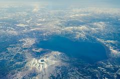 Volcano Landscape (fascinationwildlife) Tags: from mountain lake nature birds japan landscape photography volcano hokkaido view von aerial mount oben welt yotei shikotsu tarumae