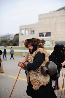Bell-ringer in Thessaloniki