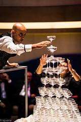 balance (satoshi etoh) Tags: balance champagne tower ship bar glass moment strain