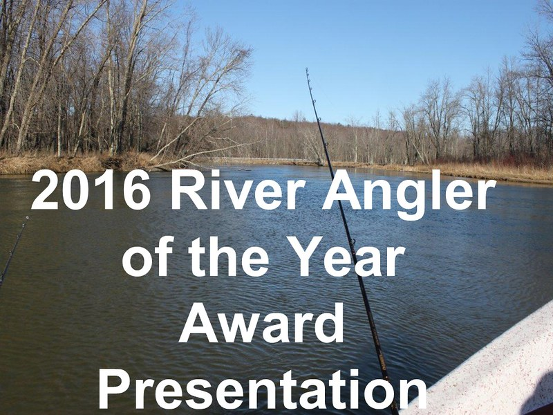 2016 River Angler of the Year Presentation