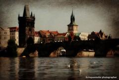 Praha (Ecinquantotto ( + 1.130.000 ...grazie !! )) Tags: architettura architecture art arte acqua colori colors d3000 dreams dream gabbiani nikon nikond3000 praga praha prague river texture cekia moldava