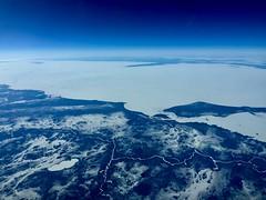 Lake Winnipeg (b737yyc) Tags: lakewinnipeg frozen norwayhouse winter takenatwork b737 flying