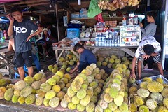 Wonderfully smelling Durian, Kota Ambon, Pasar besar, Maluku (Sekitar) Tags: maluku moluccas molukken pulau nusa islands indonesia asia ambon durian market pasar besar fruit earthasia
