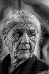 Les marques du temps /  The marks of time (Fernando.P.Photo) Tags: porto people old face mother wrinckles inspiredbylove ngc greatphotographers portraitofface