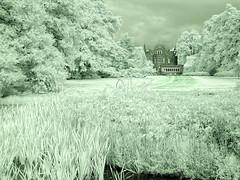 Castle Aerwinkel @ infrared (Frank ) Tags: castleaerwinkel posterholt kasteel europe europa infrarood infrared sony frnk holland landscape pierrecuypers architect architecture topf25 topf50 topf75 topf100