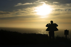 Land's End (Jay Pasion) Tags: jaypasion nikon d7000 sunset sun beach sanfrancisco california silhouette people sky clouds bayarea wind
