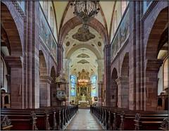 Altorf - St. Cyriak (Stefan Wirtz) Tags: architektur frankreich france altorf alsace romanic romanisch baroque barock kirche kirchen church churches eglise eglises barockkirche