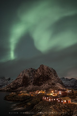 ● aurora ● hamnøy ● norway ● (Oliver Jerneizig) Tags: oliverjerneizig oliverjerneizigde wwwoliverjerneizigde norwegen norway norge lofoten north wilderness landschaft landscape outdoor canon 6d canon6d aurora hamnoy hamnøy reine nordlicht nordlichter northern lights light borealis