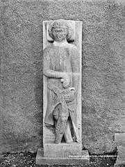 Crusader, XIII Century, Graiguenamanagh, Co. Kilkenny (National Library of Ireland on The Commons) Tags: lawrenceroyals robertfrench williamlawrence lawrencecollection lawrencephotographicstudio thelawrencephotographcollection glassnegative nationallibraryofireland crusader graiguenamanagh cokilkenny stoneeffigy finedetail alanbeg knight relief effigy duiske duiskeabbey graiguenamanaghabbey medieval chainmail williammarshall