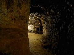 Catacombs St. Magdalene. (panoskaralis) Tags: catacomb catacombs ground underground monastery church light ancient ancientgreece outdoor island lesbian lesbos lesvosisland lesvos mytilene greece greek hellas hellenic aegean aegeansea stmagdalena cave secret
