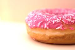 Glaze (Helena Johansson 71) Tags: macromondays glazed macro nikond5500 d5500 nikon food eatable cookies donut pink glaze
