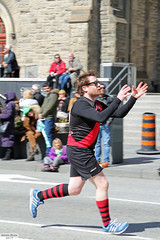Dingos Australian Rules Football (Can Pac Swire) Tags: toronto ontario canada canadian irish stpatricksday parade people man women woman men children bloorstreet west w avenueroad culture cultural aimg7450 dingos australian rules football