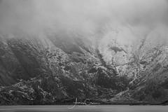 GRIM (A Crowe Photography) Tags: cwmidwal devilskitchen wales welshflickrcymru welshphotography welshlandscape snowdonia snowdonianationalpark blackandwhite blackwhite mono monochrome
