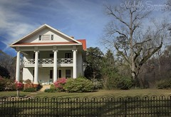 (SouthernHippie) Tags: alabama al americana architecture american turnofthecentury greekrevival windows woods wow white house history home historical green grass trees tree farm farmhouse flickr field flowers south southern southernhippie springtime nature old outside outdoors oldhouse oldsouth southernliving country countryside countryroad clouds sky bluesky rural rurex exploring michellesummersphotography mansion fence