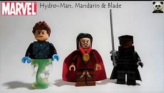 Hydro-Man, Mandarin & Blade