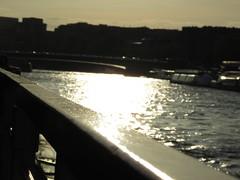 Río Sena. París (Francia) (Natalia Z.M.) Tags: río sena francia barco turismo atardecer urbano tourism france geografíaurbana urbanismo infraestructura hidrología ciudad arquitecturacivil parís