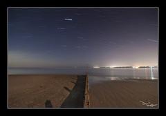 Trailing (vaughaag) Tags: exmouth seaside sea seascape sky groyne sony a7 minolta 1735 classic glass long exposure longexposure