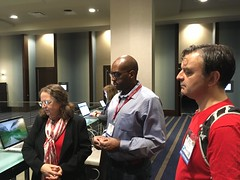 Virtually Connecting at ELI 2017 - Lois Brooks, Kelvin Bentley, and Nate Angell