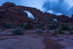 Peering at the Blue Hour (Ken Krach Photography) Tags: archesnationalpark
