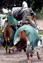 The Joust (PelicanPete) Tags: floridarenaissancefestival march2017 25thannual deerfieldbeachflorida florida southflorida unitedstates usa renaissancefestival armsandarmor joust thejoust knights horses action emotion excitement skill kingsroyalorders fieldofdreams horse horsebackrider knight battle gear helmet shield lance sword noblecauseproductions sanantoniotexas viewingstand nobleattire portraitsofrenfest portrait people smile outdoor fun pose greatfacesofrenfest festivalemployee sunlit walk stroll costume happy face shadow closingday cast castofcharacters farewell faretheewell eatdrynkandbemerrie closeup fullspeed