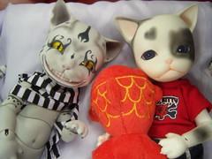 100_5980 (EilonwyG) Tags: bjd abjd pipos kitty cat cheshire baha