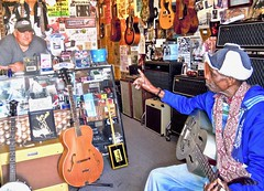 ... and the Lord said `  WATCH: (Shein Die) Tags: lculmer guitar theblues festival bluesmen
