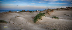 (145/17) Soledad (Pablo Arias) Tags: pabloarias photoshop nxd cielo nubes españa photomatix playa arena agua mar mediterráneo dunas lamanga murcia comunidadmurciana