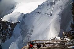 Aiguille du Midi, Chamonix Mont Blanc (Mandyspace) Tags: aiguilledumidi ski mountain frenchalps france montblanc chamonix