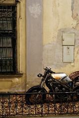 prinz eugen-straβe, wien (Seakayem) Tags: sony alpha a99 fullframe minolta maxxum 50mm austria vienna urban decay rust urbandetail motorbike bike belvadere old disused prinzeugestraβe prinzeugenstrasse