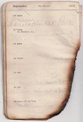 20-26 Sept 1915 (wheresshelly) Tags: ww1 wwi world war 1 australia gallipoli egypt military australian 4th field ambulance anzac morton wilfred