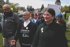 Tom Lisa and Tami (FADICH PHOTOGRAPHY) Tags: science march themarchforscience 2017 april earthday earth day lisaparshley activism protest olympia washington environmentalism gogreen clean energy vote womenofscience climatechange climate change global warming poverty war drought resourcescarcity