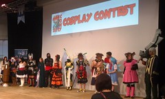 Cosplay Contest (Légendes Lorraines) Tags: geesseknäppchen luxcon contest cosplay diablo kingdomhearts sora luxembourg convention