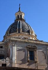 Palermo - piazza Pretoria (ikimuled) Tags: palermo santacaterina cupole