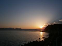 today's sunrise (Kero-ppi) Tags: sea sky cloud sunrise
