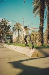 Théo Cetre (Hugo Bernatas) Tags: skateboard skateboarding théo cetre street barcelona spain travel film 35mm topshot canon sun light color kodak slappy hugo bernatas