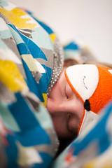 Day 60, Year 10. (evilibby) Tags: 365 36510 365days 365days10 libby eyemask sleepmask foxmask bed sleep sleepy sleeping eyelashes eyesclosed zzz