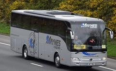 M17YNE  Maynes, Buckie (highlandreiver) Tags: m17yne m17 yne maynes coaches buckie mercedes benz torismo bus coach m6 wreay carlisle cumbria