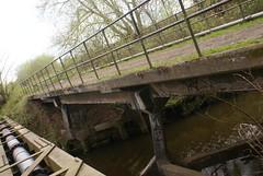 MSC River Glaze Railway Bridge (Azzcart2000) Tags: train cadishead glazebrook rixton bridge manchestershipcanal railway abandoned