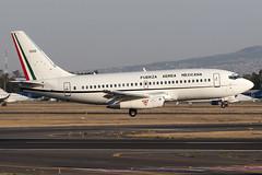 547C0987_Mar29_3520 (FelipeGR90) Tags: 737 jurassic aeropuerto internacional benito juarez boeing ciudad de mexico fuerza aerea mexicana mexican air force city 3520 732 737200 aicm b732 b737 cdmx fam mex mmmx sedena