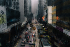Downtown (hansekiki ) Tags: china hongkong central icm intentionalcameramovement mehrfachbelichtung multipleexposure canon 5dmarkiii