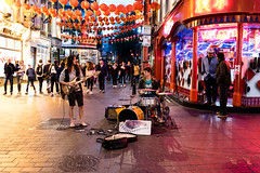 Buskers (Number Johnny 5) Tags: performer night tamron 2017 2470mm london chinatown leicester people buskers candid squarestreet d750 nikon holiday april