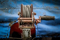 detail (alexhaeusler) Tags: cable handle crank metal boat detail