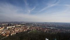 Prague from Petřín Lookout Tower (kalakeli) Tags: aussichtsturmpetřín petřín petřínlookouttower prague praha prag panorama czechrepublic märz march 2017 bergpetřín bergpetrin petřínskározhledna
