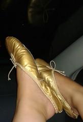 Gigi (2557) (Duke of Slippers) Tags: ballet slippers shoes flats pumps mules slides ballerinas fetish