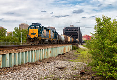 Highly Prioritized (Wheelnrail) Tags: csx j783 local toledo subdivision train trains emd gp402 freight railroad rail road locomotive rails dayton