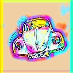 1973 Volkswagen Beetle (Michelle O'Connell Photography) Tags: car volkswagen beetle 1973 hys163l automobile vehicle retrocar riversidemuseum glasgow michelleoconnellphotography