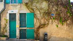 Entrée verte (Hugo Malki) Tags: blois france europe old nature house architecture life colors city street outdoor