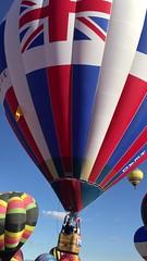 Grand Britannia takes off in Albuquerque (Hazboy) Tags: hazboy hazboy1 hot air balloons albuquerque balloon fiesta festival october 2016 new mexico us usa america