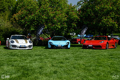 DSW Wrapping at Cars and Coffee (Luca Crotti Photography) Tags: dsw wrapping carsandcoffee porsche 911r mclaren 650s puffo ferrari 430 f430 scuderia powerslidelover amazing combo photo automotive